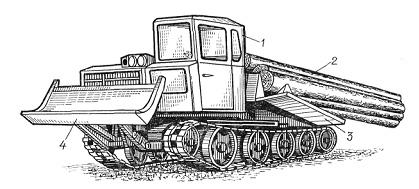 Базой ТБ-1М (рис. 4.21) является трактор ТДТ-55А.  К технологическому оборудованию относятся.