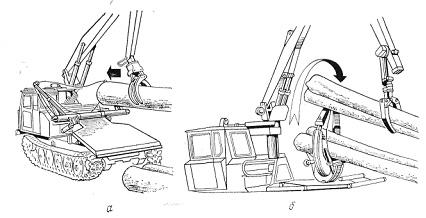 трактора с чокерной оснасткой